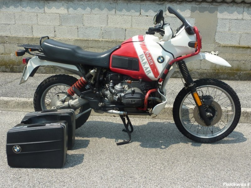 bmw r100gs paris dakar
